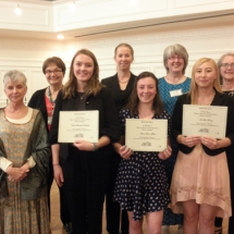 Scholarship winners and trustees